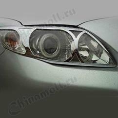 Накладки на передние фары Toyota Corolla E140 АКЦИЯ!!!