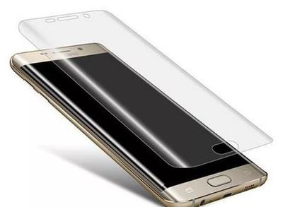 Защитное стекло  FULL GLUE  Samsung S6 Edge (изогнутое) прозрачное