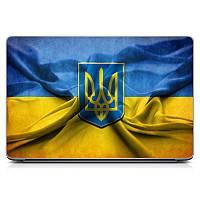 Декоративная наклейка стикер на ноутбук Ukraine Матовая