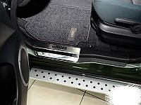 Накладки на пороги Suzuki Grand Vitara 5D 2005+