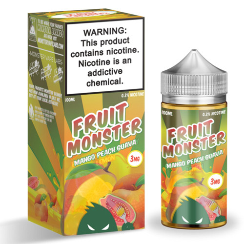 Fruit Monster Mango Peach Guava-100ml 3мг VG/PG-75/25