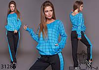Женский спортивный костюм / двунитка, французский трикотаж / Украина 9-656, фото 1
