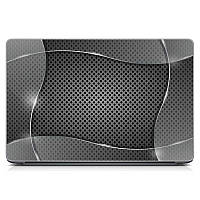 Оригинальная виниловая наклейка для ноутбука, планшета, нетбука Aluminium Матовая