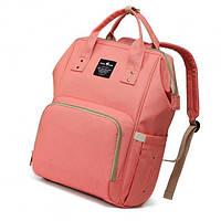Сумка-рюкзак MomBag Aero мультифункциональный органайзер для мамы Розовый (op758608572/BITX232)