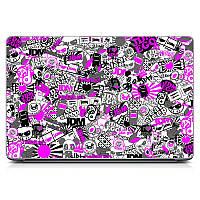 Защитный виниловый стикер для ноутбука Violet stickers Матовая