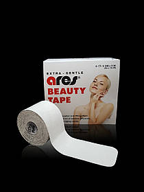 КИНЕЗИО ТЕЙП ARES BEAUTY TAPE 5 CM X 5 M (БЕЛЫЙ)