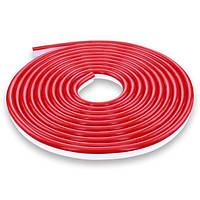 Светодиодная лента NEON 12В JL 2835-120 R IP65 красная, герметичная, 1 метр