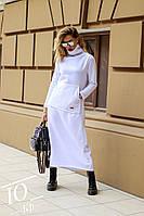 Утепленное платье-туника / трехнитка / Украина 14-571, фото 1