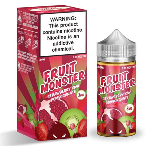 Fruit Monster Strawberry Kiwi Pomegranate 100ml 3мг VG/PG-75/25