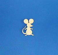 Мышка (Мышь)  №2 заготовка для декупажа и декора