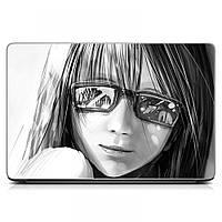 Виниловая наклейка на ноутбук Girl Матовая