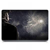 Виниловая наклейка на ноутбук Asus, Acer, Lenovo, Hp, MSI, Macbook Red Поезд Матовый