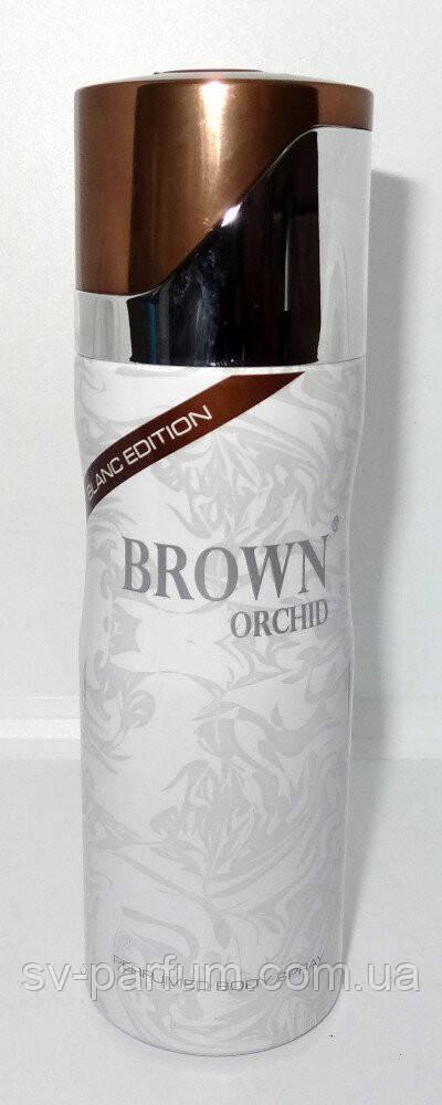 Парфюмированный дезодорант женский Brown Orchid Blanc Edition 200ml
