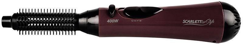 Фен-щетка Scarlett SC-HAS7399, 400 Вт, расческа, холодный/горячий воздух, компактный дорожный, фото 2