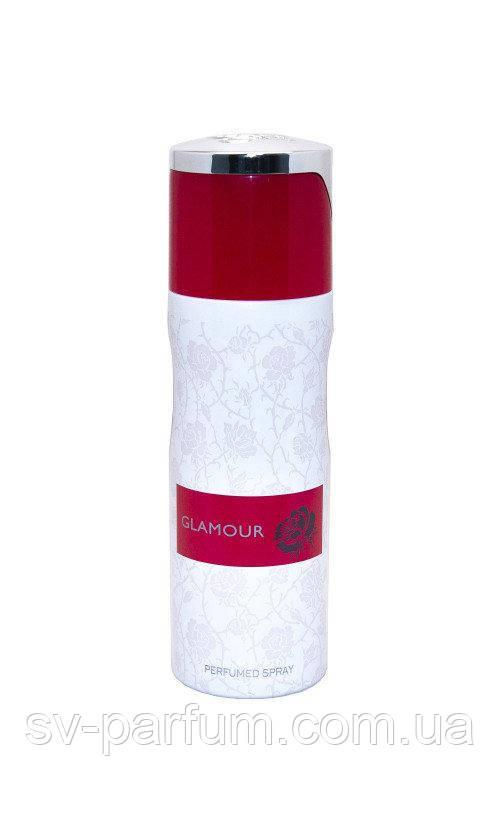 Парфюмированный дезодорант женский Glamour 200ml