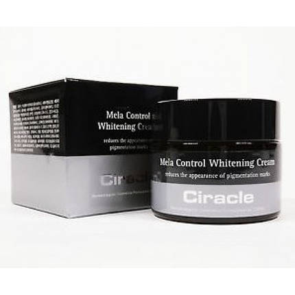 Ночной крем для лица от пигментации Ciracle Mela Control Whitening Cream, 50мл., фото 2