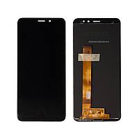 Дисплей Meizu M6s (M712H/M712Q) + сенсор Черный high copy