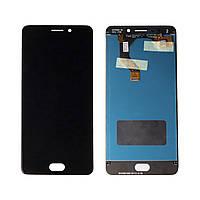 Дисплей Meizu M6 Note (M721H) + сенсор Черный high copy