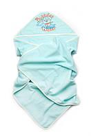 Полотенца с уголком для купания новорожденных