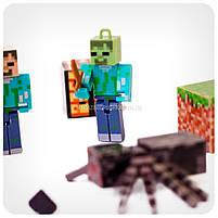 Набор фигурок «Minecraft» (Майнкрафт, 12 предметов), фото 5