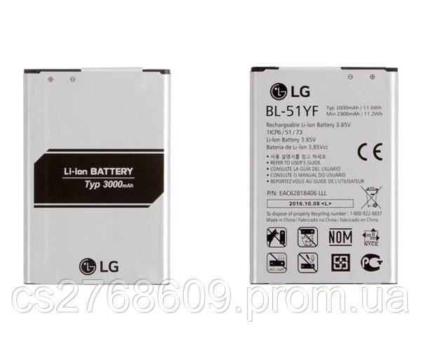 Батарея / Акумулятор 100% Original LG G4/G4 Stylus (BL-51YF)