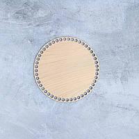 Круглое донышко для корзины,35 см