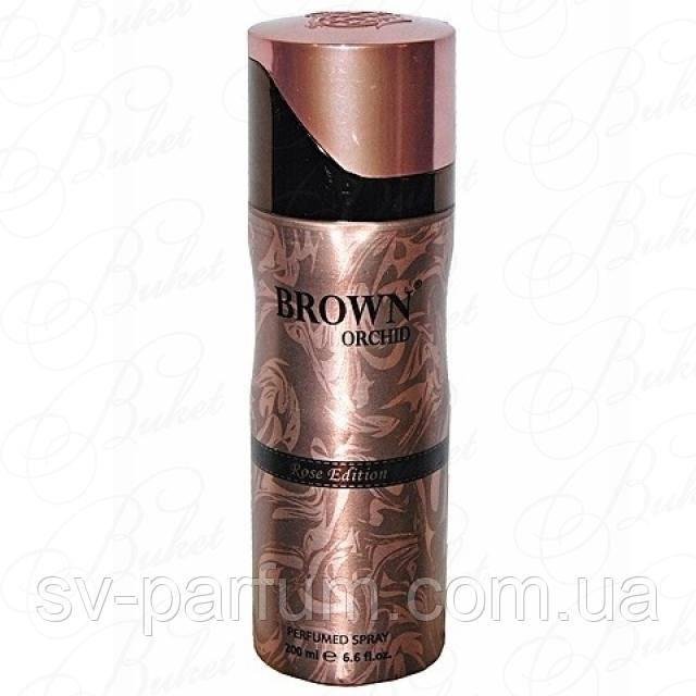 Парфюмированный дезодорант женский Brown Orchid Rose Edition 200ml