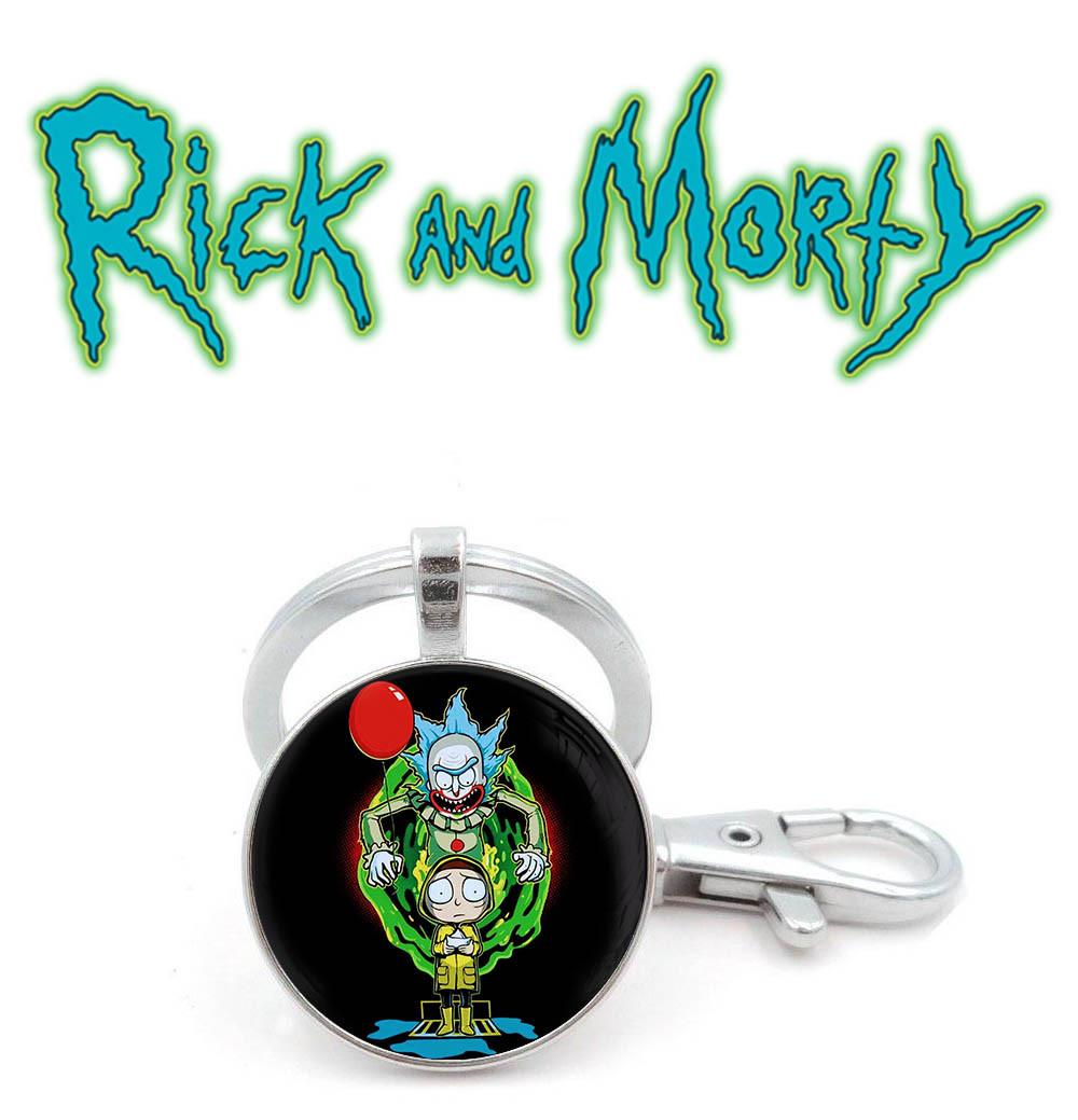 Брелок Рик злой клоун Рик и Морти / Rick and Morty