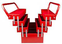Ящик металлический MASTER TOOL 7 отделений (79-4307)