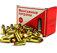 Патроны монтажные Д4 красные 6,8 х 18 (100 шт., для пистолетов MG-710, ПЦ-84, МЦ-52)