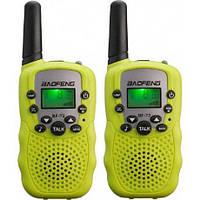 Комплект раций BAOFENG MiNi BF-T2 PMR446 Yellow (Гр7887)