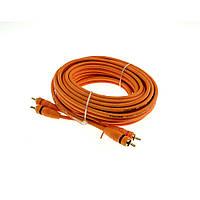 Межблочный RCA кабель для подключения усилителя с управляющим проводом AW-52