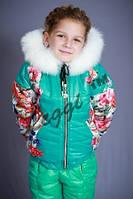 Детский комбинезон термо-куртка Moncler,