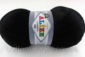 Alize Lanagold 800 (Ализе Ланаголд 800)  60 черный