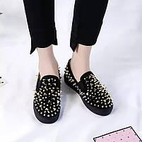 Дизайнерские женские кроссовки 6 пар в ящике черного цвета 36-41, фото 3