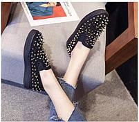Дизайнерские женские кроссовки 6 пар в ящике черного цвета 36-41, фото 4