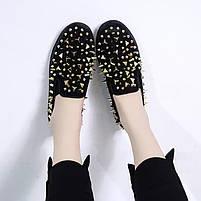 Дизайнерские женские кроссовки 6 пар в ящике черного цвета 36-41, фото 7