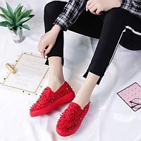 Дизайнерские женские кроссовки 6 пар в ящике красного цвета 36-41, фото 1