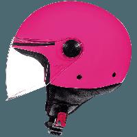 Шолом MT Street Solid Gloss Pink, фото 1