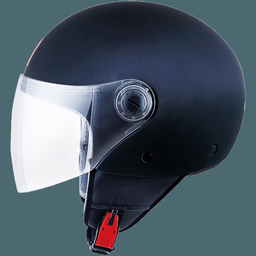 Полулицевик MT Street Solid Gloss Black