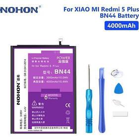 Аккумулятор Nohon BN44 для Xiaomi Redmi 5 Plus (емкость 4000mAh)