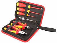 Комплект диэлектрического инструмента Tolsen Premium VDE 6 предметов (V83306)