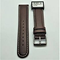 20 мм Кожаный Ремешок для часов CONDOR 147.20.02 Коричневый Ремешок на часы из Натуральной кожи, фото 2