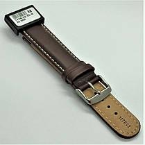 20 мм Кожаный Ремешок для часов CONDOR 147.20.02 Коричневый Ремешок на часы из Натуральной кожи, фото 3