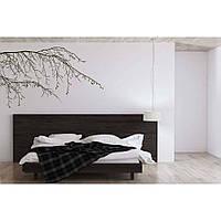 Красивая наклейка в интерьер кухни, прихожей, зала Red Spring branch 96х60 см Черная