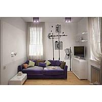 Водостойкая наклейка стикер для кафельной плитки, кухонной мебели, обоев, стен Red Antennas 60х96 см Черная