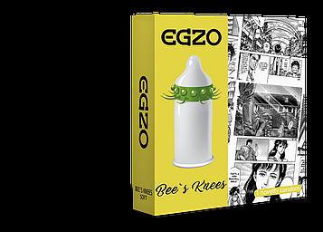 Насадка на член Egzo Bees knees презерватив с усиками