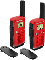 Комплект раций MOTOROLA TALKABOUT T42 RED TWIN PACK (Гр8219)