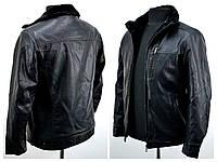 Качественные зимние мужские куртки эко кожа  8833, фото 1