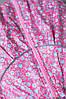 Ветровка легкая детская для девочки демисезонная розовая 80, фото 3